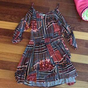 Tribal pattern dress